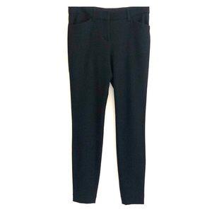 Express Mid Rise Stretch+ Black Skinny Pants